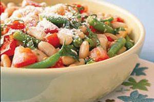 Italian Bean and Tomato Sal 300x199 - سالاد لوبیا و گوجه فرنگی ایتالیایی