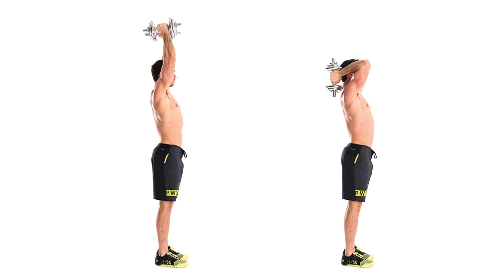 1 3a dumbbell triceps extension min - پشت بازو سوئینگ