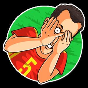 big soccerwc2018 29 300x300 - استیکر جام جهانی 2018 تلگرام