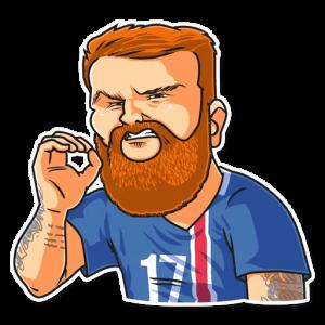 big soccerwc2018 31 300x300 - استیکر جام جهانی 2018 تلگرام