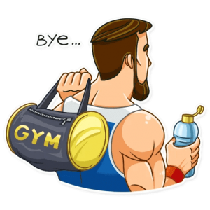 big sportguy 25 300x300 - استیکر پسر ورزشکار تلگرام