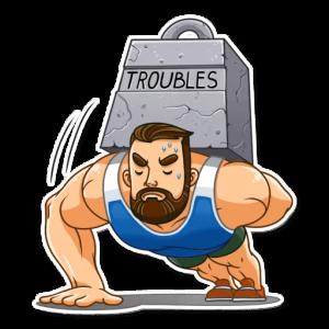 big sportguy 26 300x300 - استیکر پسر ورزشکار تلگرام