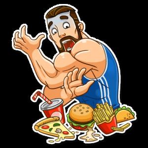 big sportguy 3 300x300 - استیکر پسر ورزشکار تلگرام