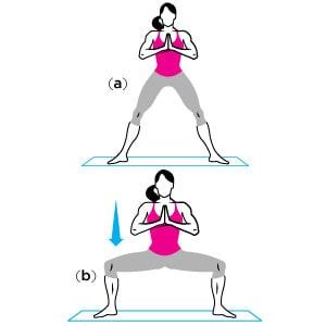 hot body yoga 4 min - 30 روز تا خلاصی از شر چربی ران
