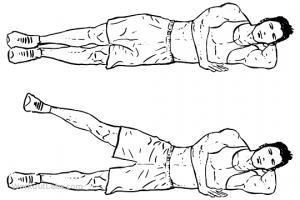 lying side leg lift M WorkoutLabs min 300x200 - 30 روز تا خلاصی از شر چربی ران