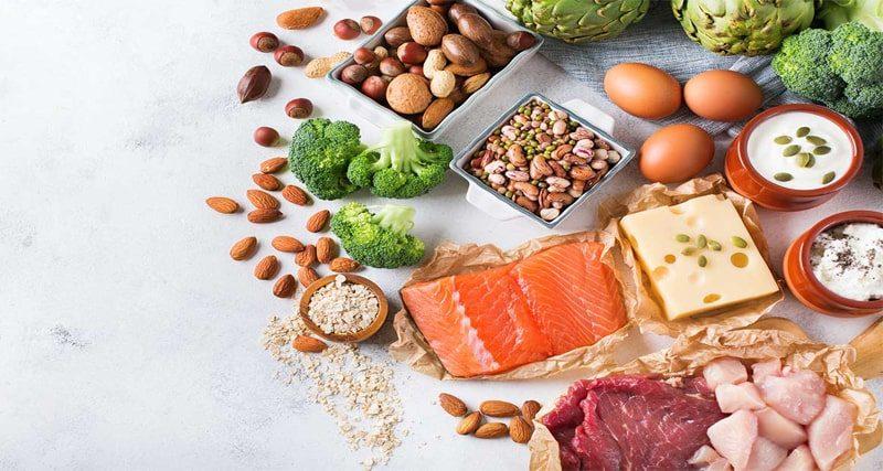 مقدار پروتئین کافی برای بدن چقدر است؟