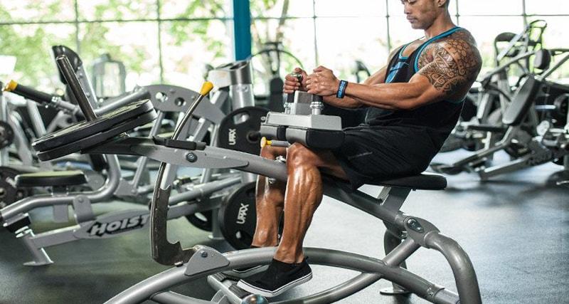 ساق پا نشسته دستگاه