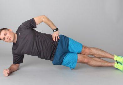 آموزش حرکت پلانک پهلو